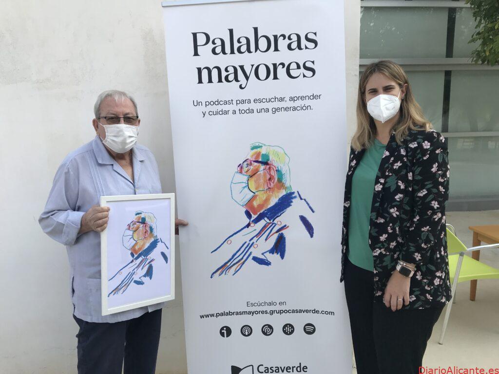 La serie podcast «Palabras mayores» del Grupo Casaverdeha sido galardonada por los Premios Alce 2021