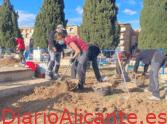 El Ayuntamiento de Aspe va iniciar la exhumación de fusilados en el cementerio municipal de Alicante