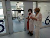Sanidad invierte 2 millones de euros en la nueva UCI del Hospital de Elda