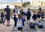 1800 escolares comienzan el curso en Aspe