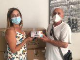 El Ayuntamiento de Aspe reparte 5.000 mascarillas a colectivos vulnerables