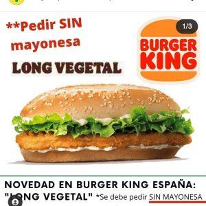 Burger King apuesta por los productos vegetales
