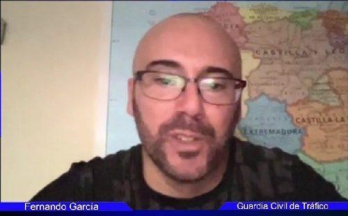 Entrevista Fernando García Cabo 1 de la agrupación de la Guardia Civil de Tráfico