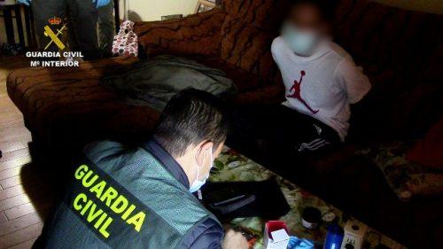 La Guardia Civil frustra el robo de dinero de un furgón blindado