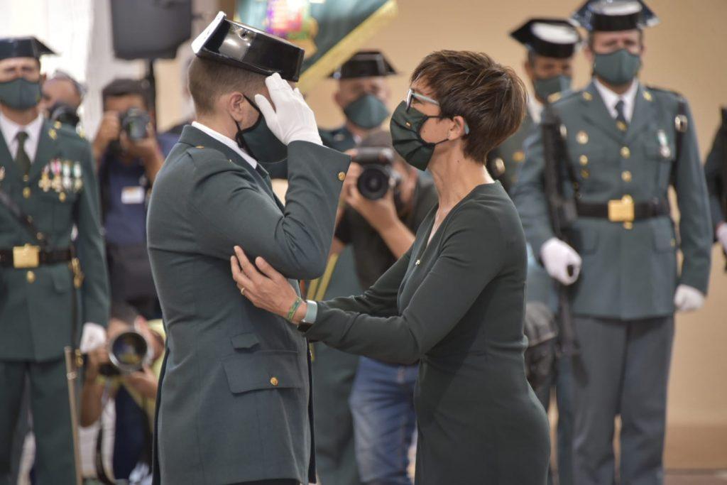 La directora Guardia Civil preside los actos de de la Patrona del Cuerpo en Málaga