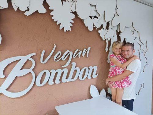 Vegan Bombón sin gluten, todo espectacular