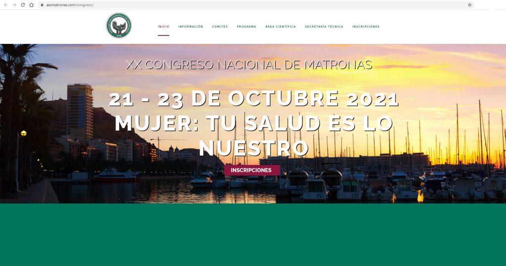 Alicante acogerá del 21 al 23 de octubre el XX Congreso Nacional de Matronas